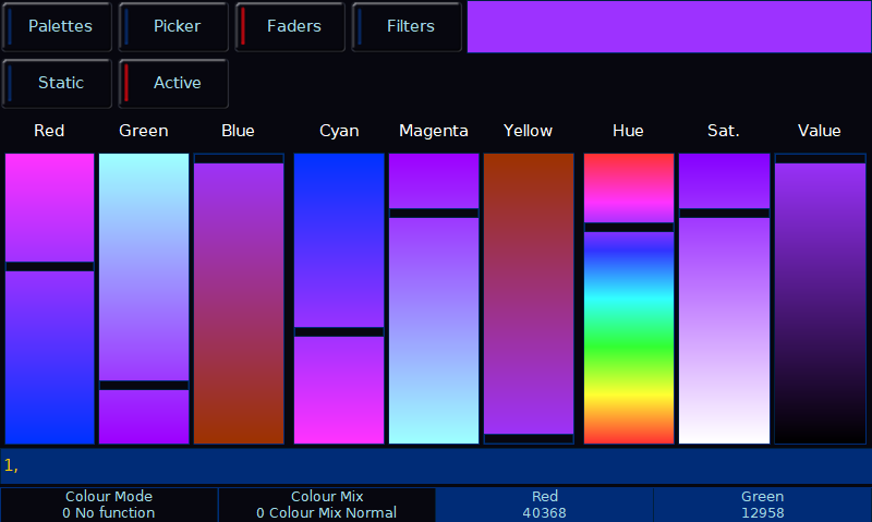 Colour Faders